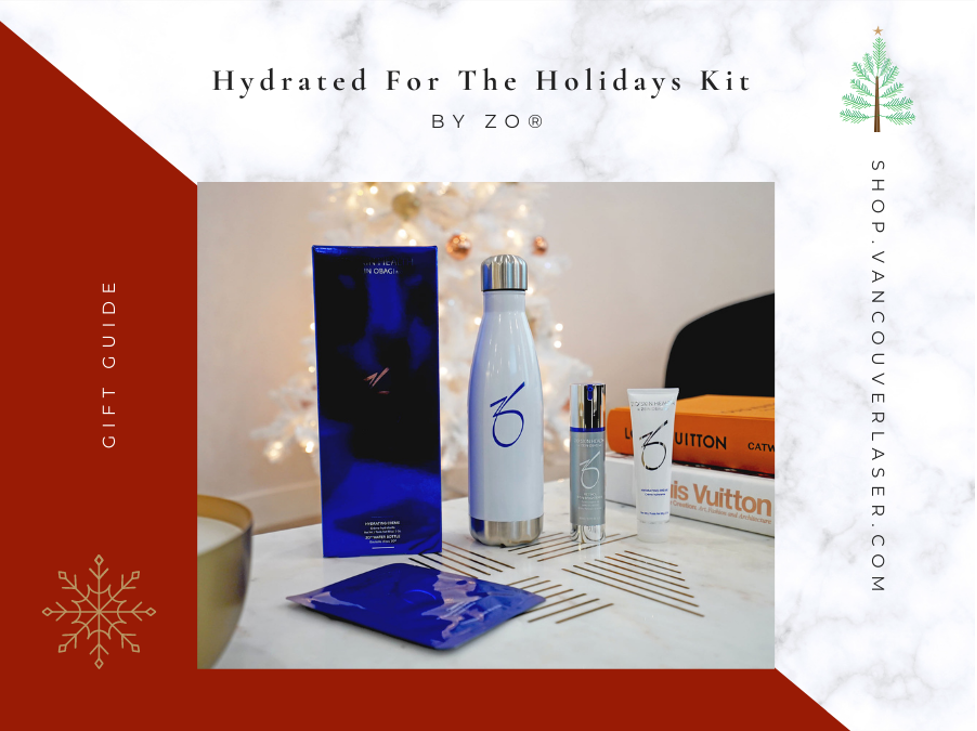 Hydrate For The Holidays Kit by Zo